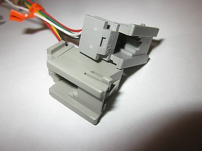 Handset & Line Cord Jacks for Western Electric & Other 500/2500 Telephones.