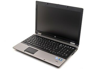 "HP Probook 6550b Core i3-M370 2.4Ghz 6GB 320GB 15"" Win-10 Laptop"