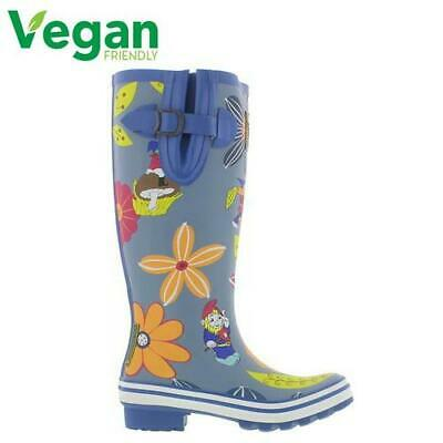 Evercreatures Dahlia Tall Womens Ladies Wellies Wellington Boots Size 4-8