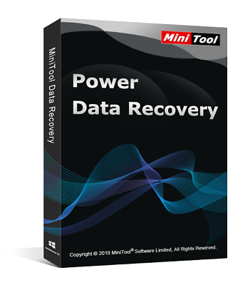 New Minitool Power Data Recovery 8.0 [2018] Pro Edition + License+Installation