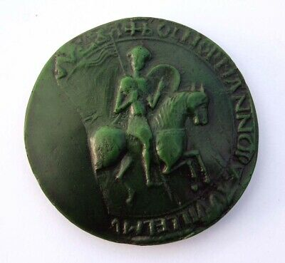 William The Conqueror Great Seal Green Medieval Reproduction Collectable Gift