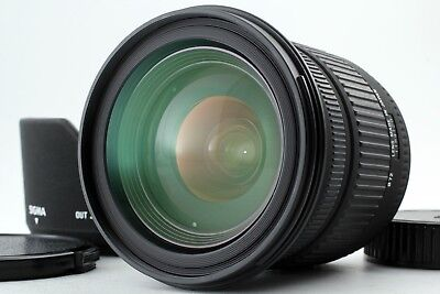 【Near MINT】 Sigma 17-70mm f2.8-4.5 DC MACRO Lens w/ hood for PENTAX from Japan