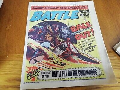Battle Picture Weekly Comic 24/04/1976