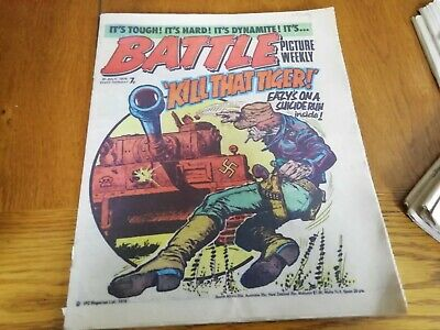 Battle Picture Weekly Comic 31/7/1976