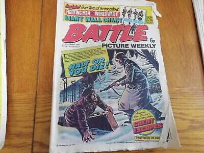Battle Picture Weekly Comic 22/11/1975