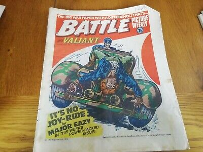 Battle & Valiant Picture Weekly Comic 1/1/77