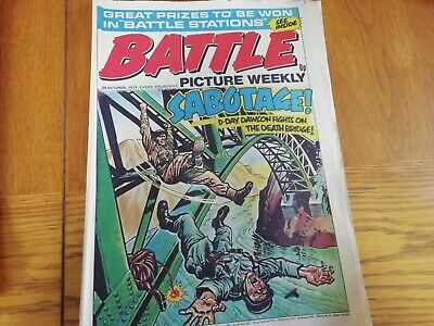 Battle Picture Weekly Comic 25/10/1975
