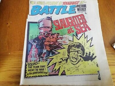 Battle Picture Weekly Comic 1/05/1976