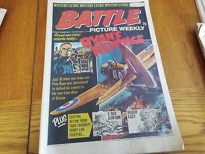 Battle Picture Weekly Comic 14/02/1976