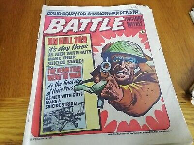 Battle Picture Weekly Comic 19/06/1976