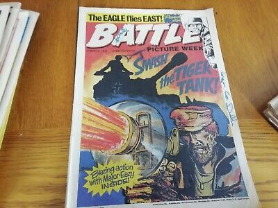 Battle Picture Weekly Comic 20/03/1976