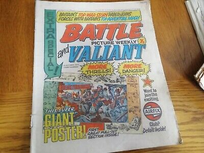 Battle & Valiant Picture Weekly Comic 23/10/1976