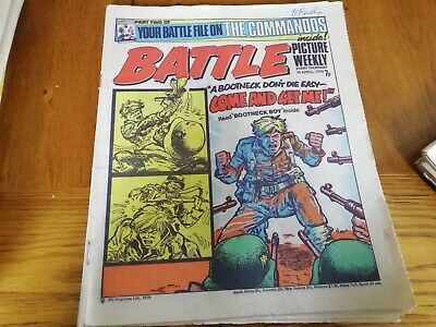 Battle Picture Weekly Comic 10/04/1976