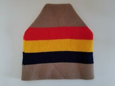 aa309a085b340 VINTAGE 80 s 90 s Wigwam Beanie Winter Heavy Warm Knit Ski Hat Retro Colors  NICE