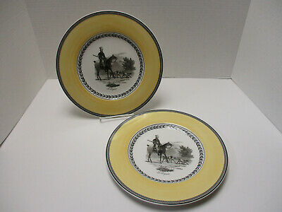 Villeroy & Boch Audun Chasse Two Dinner Plates Germany