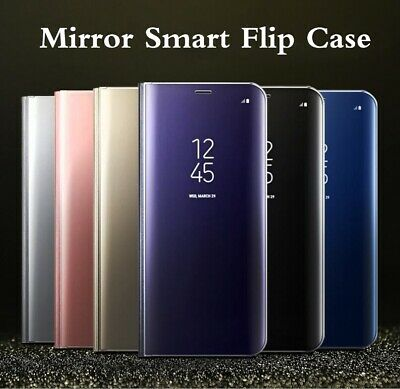 Smart View Flip Phone Case Stand Cover for Samsung Galaxy S9 S10 Plus 10e Note 9