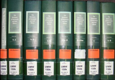 The Dictionary of Substances and Their Effects (8 vols. cpl./ 8 Bände KOMPLETT)