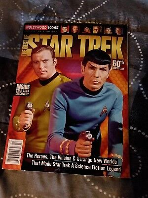 Best of Star trek Hollywood icon collector edition 50th anniversary magazine new