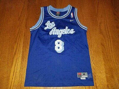 a3a2a5e07f1 Nba Jersey Los Angeles Lakers Kobe Bryant Nike Rewind Youth M Vtg Lebron