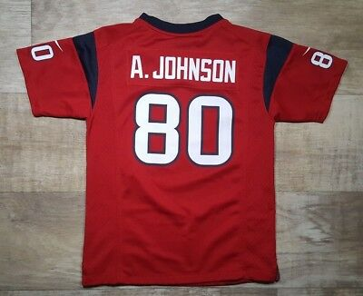 9912842ef17 Houston Texans Nike On Field Jersey Andre Johnson 80 Youth Medium 10/12 NFL
