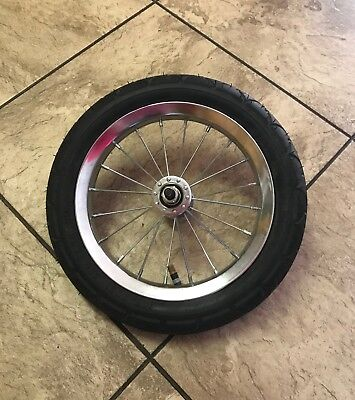 "FRONT 12-1/2"" WHEEL for Baby Trend Jogging Stroller"