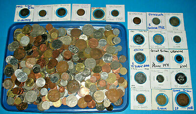 2.2 Lbs Huge Unsearched Lot of World Foreign coins selling by 1 Kilo
