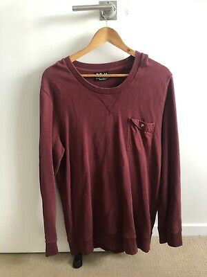 Kiss Chacey Burgundy Jumper Size M