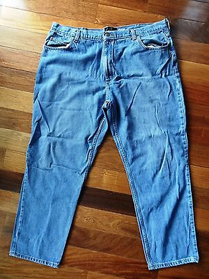 REDHEAD Bass Pro Mens SIZE 42X32 Blue Denim JEANS