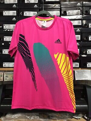 c9e02bd4c2e Adidas Season Goalie Jersey Short Sleeve Size Pink And Black Medium Only