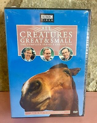 Christopher Timot All Creatures Great & Small The Complete 5 Series Collection