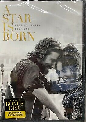 A STAR IS BORN DVD*AUTHENTIC DVD READ*Plus BONUS DISC New FAST*Free shipping*