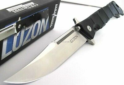 """Cold Steel Luzon LARGE Manual Flipper Opening w/ Extra Lock 13 1/2"""" Knife 20NQX"""