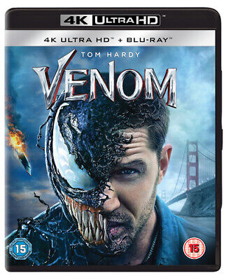Venom Blu-ray (2019) Tom Hardy