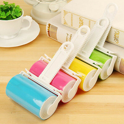 Reusable Washable Lint Roller Sticky Pet Cleaning Dust Brush Hair Silicone