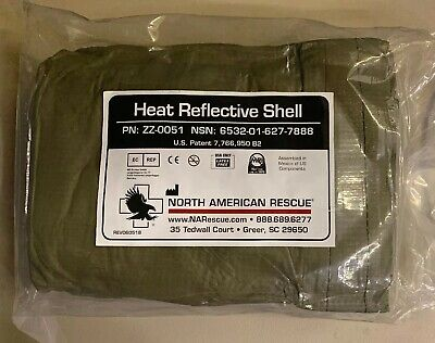 North American Rescue Heat Reflective Shell HRS™ EMS,TCCC,MEDIC,TRAUMA,MARCH,18D