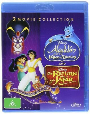 Aladdin King of Thieves / Return of Jafar: 2 Movies [Blu-ray Set, Region Free]