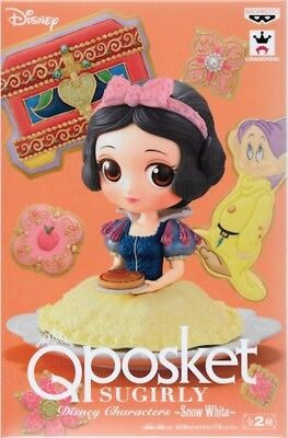 Banpresto Snow White Kunika x Q posket Sugirly Disney Characters Figure Type B