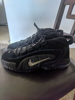 NIKE AIR MAX Penny 1 All Star Black Royal Blue size 10