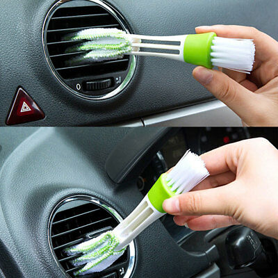Car Interior Cleaning Tool Brush And Microfibre Cloth in One Tool !