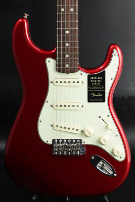 Fender American Original 60s Stratocaster Candy Apple Red rare EMS F/S