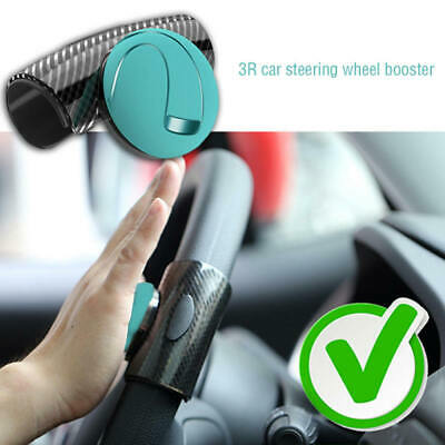 Car Steering Wheel Spinner Knob Auxiliary Booster Aid Control Handle Grip Black Electric Vehicle Parts Automobiles & Motorcycles