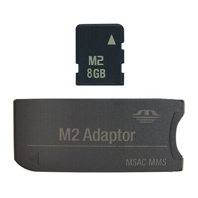 2GB 4GB 8GB M2 Memory Stick Micro Card For Ericsson Mobile Camera Xperia+Adapter