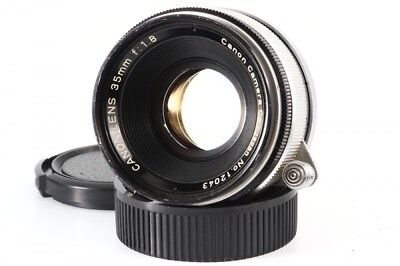 Canon 35mm F/1.8 Lens Leica Screw Mount LTM L39 from Japan Exc+