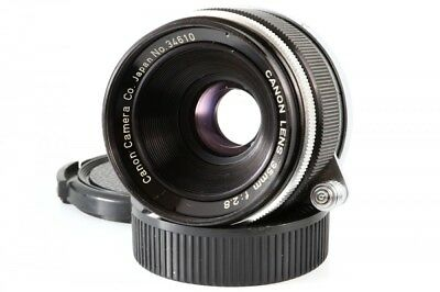 Canon 35mm F/2.8 Lens Leica Screw Mount LTM L39 from Japan Exc+++