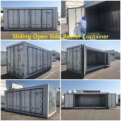 Side Open Reefer Container, Sliding Open Side Container, Sliding Door Container