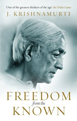 Krishnamurti,J-Freedom From The Known Book New