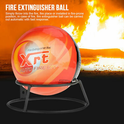 Easy Fire Extinguisher Ball Loss Tools Safety 0.5kg/1.3kg Orange Sphere Wall