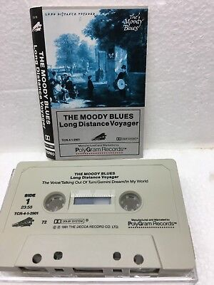 """The Moody Blues """"Long Distance Voyager"""" 1981 Rock Album Classic Ex!"""
