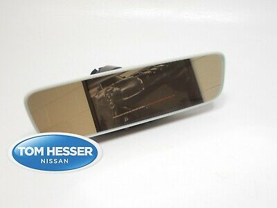 OEM Nissan Accessory Prism Frameless Mirror W/ Universal Programmable Remote