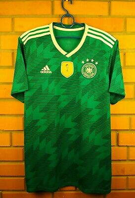 1ca03bf0 ADIDAS GERMANY OFFICIAL 2018 Away Soccer Football Jersey BR3144 ...